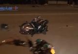 Bình Dương: Hai xe máy va chạm, 3 người nhập viện