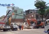Bình Định: Toàn cảnh vụ sập nhà 3 tầng, 1 người tử vong