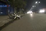TP HCM: Xe ba gác gặp nạn sau khi tông xe máy rồi bỏ chạy