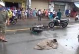 Bình Dương: Hai xe máy đối đầu, 2 thanh niên bị thương nặng