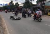 Bình Dương: Hai xe máy va chạm, 4 người nhập viện