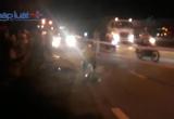 Bình Dương: Container va chạm với xe máy, 1 người tử vong