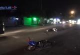Bình Dương: Hai xe máy va chạm, 4 người nguy kịch