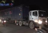 Bình Dương: Va chạm với container, 1 người nguy kịch