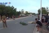 Bình Dương: Truy tìm tài xế tông cụ bà ngồi xe lăn bán vé số tử vong rồi bỏ chạy