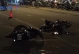 Bình Dương: Hai xe máy đối đầu, 3 người bị thương nặng