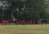 Video: U23 Việt Nam thong dong tập chờ đấu U23 Nhật Bản