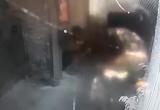 """Clip: Giám đốc doanh nghiệp bị tấn công bằng """"bom xăng"""" vào nhà"""