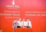 Khánh thành khu nghỉ dưỡng Vinpearl Hà Tĩnh Ocean Villas