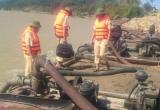Cảnh sát đường thủy Hà Tĩnh: Liên tiếp bắt giữ 'cát tặc' dịp cuối năm
