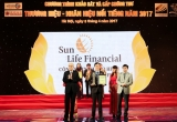 Sun Life Việt Nam nằm trong Top 10 Thương hiệu – Nhãn hiệu nổi tiếng 2017