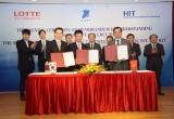 """VNPT """"bắt tay"""" Lotte cung cấp ứng dụng công nghệ thông tin"""