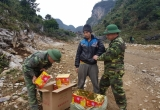 Cao Bằng: Đồn Biên phòng Trà Lĩnh bắt vụ vận chuyển 57 kg pháo nổ