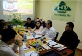Tổng Giám đốc Labiofam SA – Nhà sản xuất Vidatox Plus đến thăm và làm việc tại Công ty Hưng Thắng