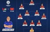 Đội hình chính thức trận Việt Nam - Jordan: Công Phượng đá chính, lá chắn thép trở lại