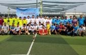 Đoàn thanh niên PTC4 phối hợp đoàn EVNICT tổ chức giải bóng đá giao hữu