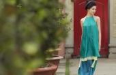 Thuỳ Dung khoe nét đẹp giản dị với áo dài truyền thống