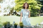Ninh Dương Lan Ngọc đep cuốn hút với váy áo mùa thu