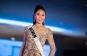 Á hậu Nguyễn Thị Loan tự tin trình diễn trong đêm bán kết Miss Universe 2017