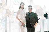 Tường Linh diện đầm ren thanh khiết dự show thời trang Chung Thanh Phong