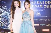 Hoa hậu Diễm Hương kín đáo, Kiều Ngân lả lơi vai trần dự sự kiện