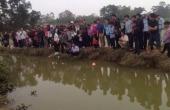 Cá lạ nổi lên trong những ngày Tết, người dân xứ Nghệ đổ xô đi xem thắp hương cầu khấn