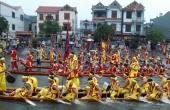 Hà Nội: Hàng nghìn người đội mưa cổ vũ hội bơi Đăm