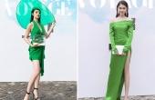 Thuỳ Dung diện váy xẻ cao bất tận, Jolie Nguyễn khoe vòng 1 quyến rũ