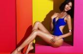 Á hậu Hoàng Thùy khoe 3 vòng gợi cảm đến 'bỏng mắt' trong bộ ảnh bikini mới