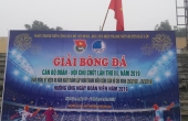 Hậu Lộc (Thanh Hóa): Tổ chức giải bóng đá cán bộ Đoàn, Hội toàn huyện lần thứ III