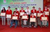 Lễ trao thưởng cho đoàn Thể thao Người khuyết tật Việt Nam tham dự Paralympic Rio 2016