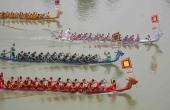 Giỗ Tổ Hùng Vương 2018: Sôi động lễ hội bơi chải truyền thống trên Sông Lô