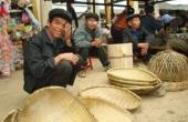 Vùng Sơn Long, nguy cơ mai một nghề đan lát