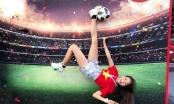 Top 10 hoa hậu hoàn vũ, hot girl World Cup 'rủ nhau' cổ vũ U23 Việt Nam