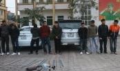 Hà Tĩnh: Bắt nhóm côn đồ chuyên đi đòi nợ thuê