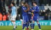 Leicester 2-1 Man City: Man City bị Liverpool bỏ xa tới 7 điểm