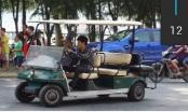 Thị trấn Cát Bà (Hải Phòng): Xe điện không phép ngang nhiên hoạt động
