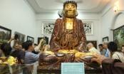 Toàn cảnh lễ khai mạc triển lãm tranh, tượng và cổ vật phật giáo