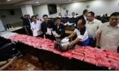 Philippines thu giữ gần 1 tấn ma túy đá trị giá 147 triệu USD