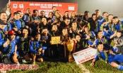 Quảng Nam FC lần đầu tiên lên ngôi vô địch V.League sau 20 năm thành lập
