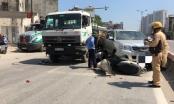 Xe tải gây tai nạn liên hoàn trên đường Phạm Văn Đồng