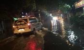 Hà Nam: TP Phủ Lý ngập nước cục bộ sau cơn mưa lớn