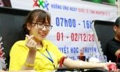 Hơn 1.000 đơn vị máu được hiến tặng trong ngày hội Trái tim tình nguyện lần thứ X