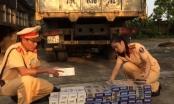 Thanh Hóa: Bắt giữ hàng trăm bao thuốc lá ngoại nhập lậu