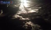 Thanh Hóa: 13  người chết và mất tích, tràn đê sông Bưởi
