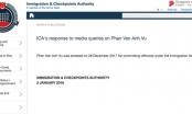 Ông 'Phan Van Anh Vu' bị phía Singapore thông báo tạm giữ là ai?