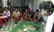Quảng Ninh: Bắt giữ nhiều đối tượng đang sát phạt trong ngôi nhà hoang