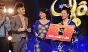 Geisha Nhật Kim Anh vươn lên dẫn đầu đêm thi Phương Dung