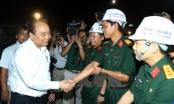 Thủ tướng Nguyễn Xuân Phúc thăm công trường xây dựng hầm Đèo Cả