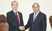 Thủ tướng Nguyễn Xuân Phúc tiếp tổng giám đốc Tokyo Gas